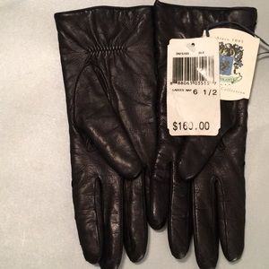 Portolano Signature Collection Leather Gloves